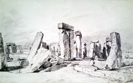 Stonehenge, by John Constable
