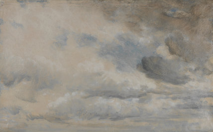 Study of Clouds, by John Constable