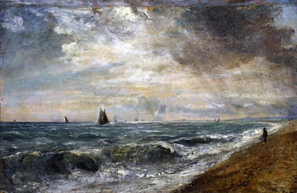 Hove beach, by John Constable