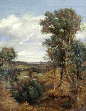 Dedham Vale, by John Constable