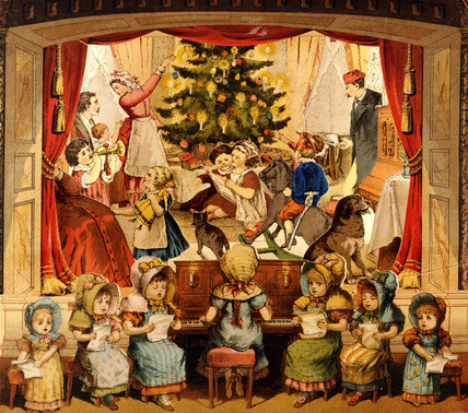Christmas Scene from Theatre Bilderbuch
