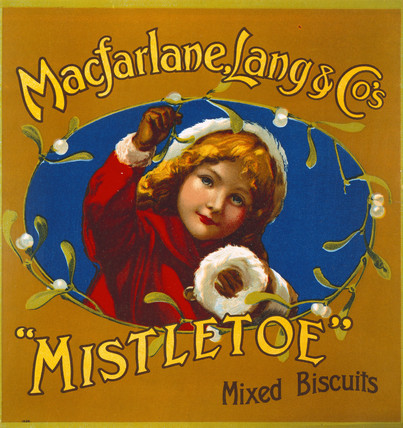 Christmas Mistletoe Mixed Biscuits