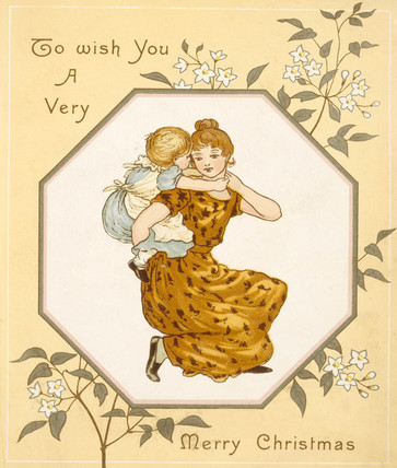 Christmas Card, by Kate Greenaway