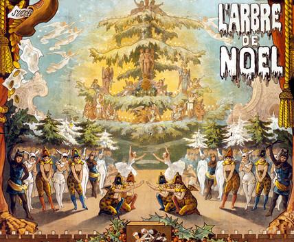 Christmas Card, L'Arbre de Noel