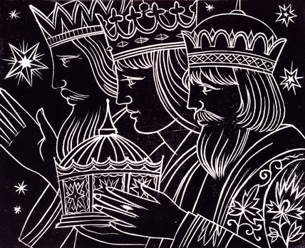 Christmas Card, The Three Kings