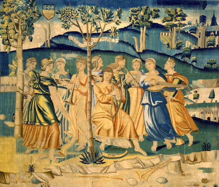 Orpheus and the Muses
