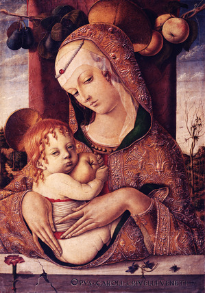 The Virgin & Child, by Carlo Crivelli