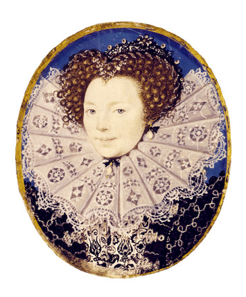 Portrait of Woman, by Nicholas Hilliard