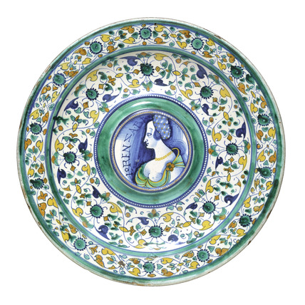 Plate. Italy, 16th century