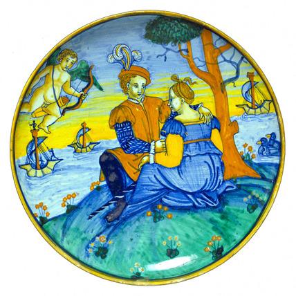 Tazza. Italy, 1539