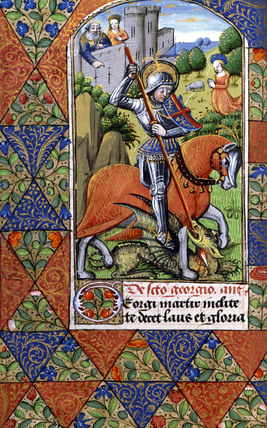 Suffrage to St George, from the Playfair Book of Hours