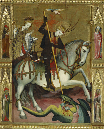St George's kills the dragon