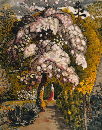 In a Shoreham Garden, by Samuel Palmer