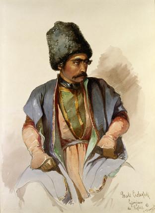 Pauli - A Georgean from Tiflis, by Amadeo Preziosi