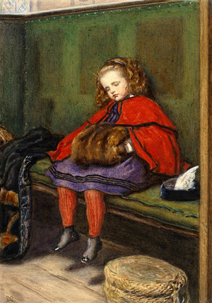 My second sermon, by John Everett Millais