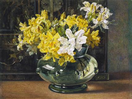 Azaleas, by Helen Cordelia Angell Arws