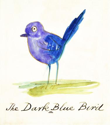 The Dark Blue Bird, by Edward Lear