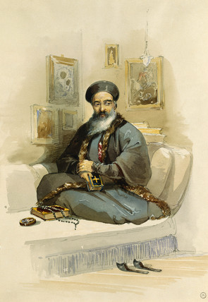 A Greek Priest, by Count Amadeo Preziosi