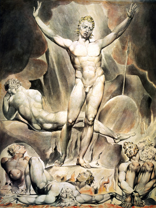Satan, by William Blake