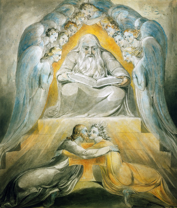 Mercy and Truth Are Met Together, by William Blake