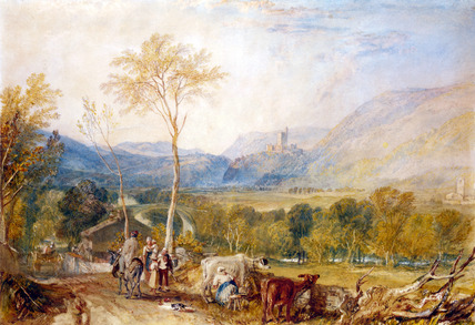Hornby Castle from Tatham Church, by J.M.W. Turner