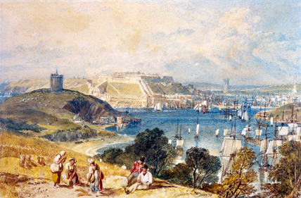 Plymouth from Mount Batten, by J.M.W. Turner