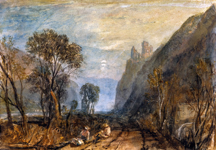 A View on The Rhine, by J.M.W. Turner