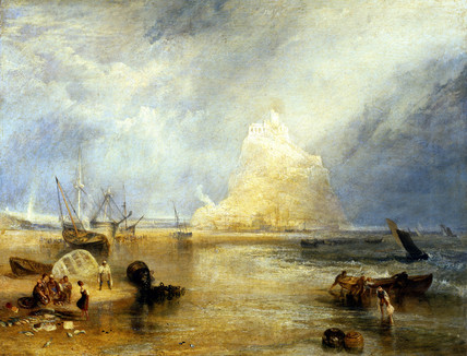 St.Michael's Mount, by J.M.W. Turner
