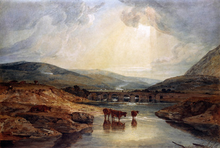 Bridge near The Usk, by J.M.W. Turner