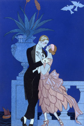Oui!, by George Barbier