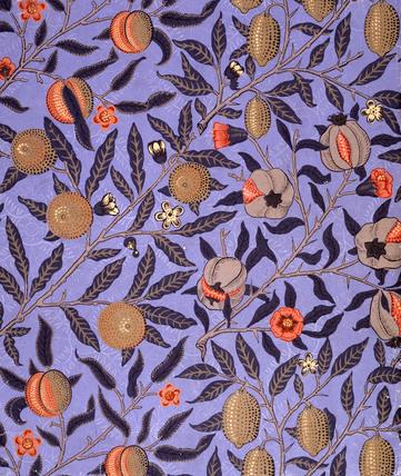 Fruit wallpaper, by William Morris
