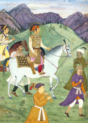 The Mughal Emperor Shah Jahan