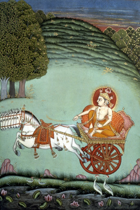 Surya The Sun God in his chariot