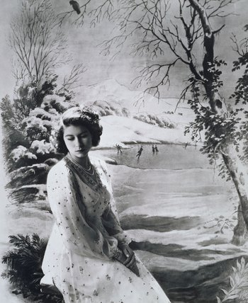 Princess Elizabeth, photo Cecil Beaton
