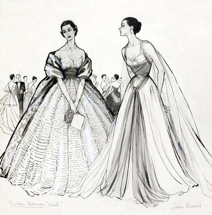 Fashion Sketch  by Mar...