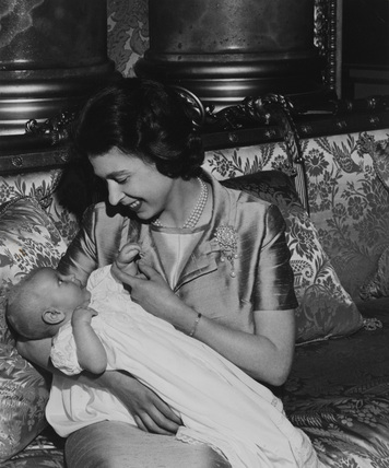 Queen Elizabeth II and Prince Edward