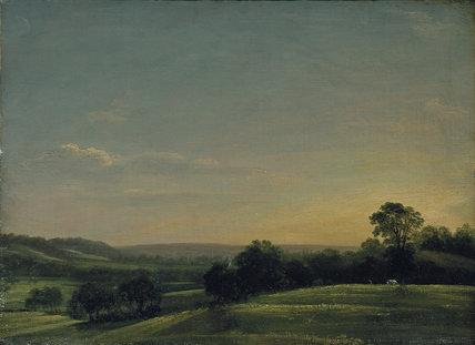 Dedham Vale, Evening, by John Constable