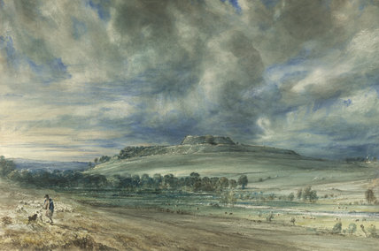Old Sarum, by John Constable. England, 1834.