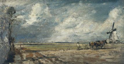 Spring, East Bergholt Common, by John Constable