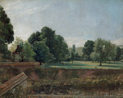 A View at Salisbury at Archdeacon Fisher's House, by John Constable