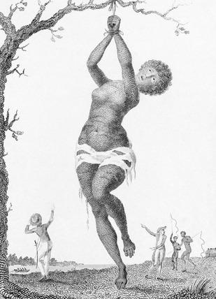 Flagellation of a Female Samboe Slave, by William Blake