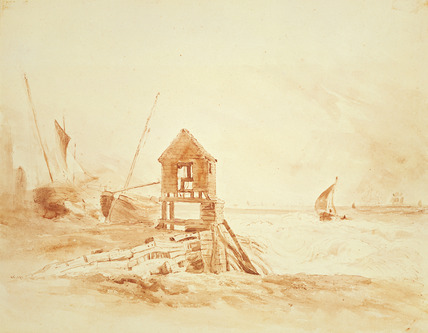 Coast Scene, by John Constable