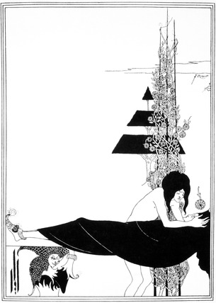Platonic Lament, by Aubrey Beardsley