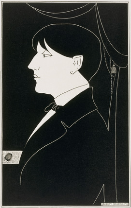 Self-portrait, by Aubrey Beardsley