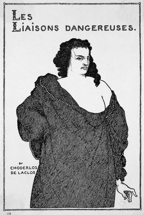 Count Valmont, The Abbe Aubrey, by Aubrey Beardsley