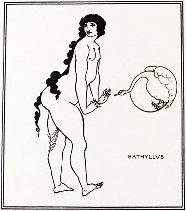 Bathyllus in the Swan Dance, by Aubrey Beardsley