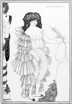 Lysistrata Her Coynte, by Aubrey Beardsley