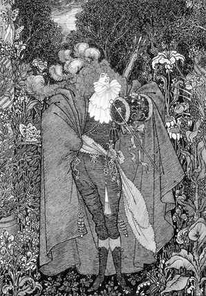 The Abbe, by Aubrey Beardsley