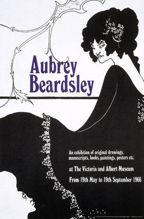 Aubrey Beardsley, V&A Exhibition Poster