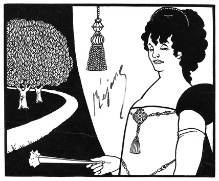 Madame Rejane, by Aubrey Beardsley